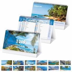 PA402 - PAESAGGI calendario spiralato da tavolo