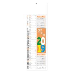 PA504 - MAXI SILHOUETTE FLUO mensile 12 fogli
