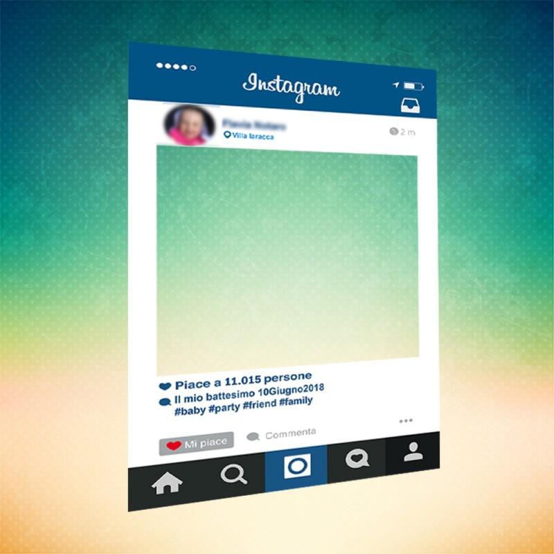 Misure Delle Cornici A Giorno.Cornici Photobooth Instagram Graphic And Promo Sas