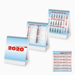PA745 - CALENDARIO 2020 - TALL TABLE