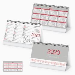 PA720 - CALENDARIO 2020 - MODERNO TABLE
