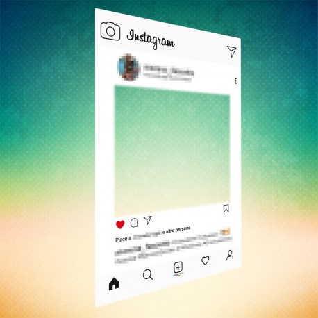 Cornici photobooth Instagram