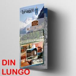 Depliant DIN Lungo