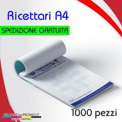 1000 ricettari formato A4