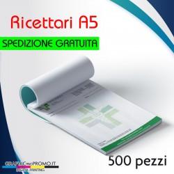 500 ricettari formato A5