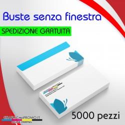 5000 buste da lettera senza finestra