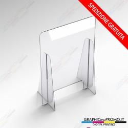 Barriere di sicurezza in plexiglass