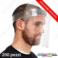 200 visiere protettive integrali