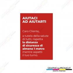 Adesivo istruzioni ANTI-COVID 42x60
