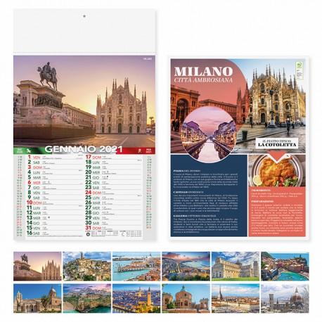 PA116 - CALENDARIO 2021 - CITTA' D'ITALIA
