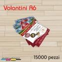 Volantini A6 - 15000 pezzi