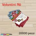 Volantini A6 - 20000 pezzi