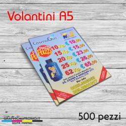 Volantini A5 - 500 pezzi