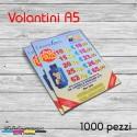 Volantini A5 - 1000 pezzi