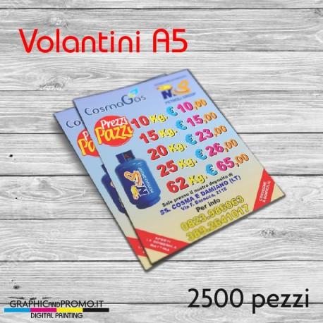 Volantini A5 - 2500 pezzi