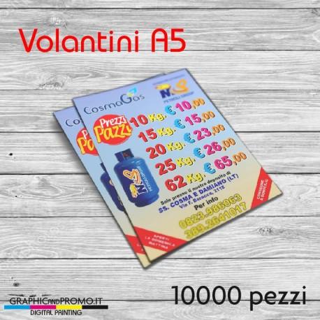 Volantini A5 - 10000 pezzi