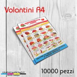 Volantini A4 - 10000 pezzi