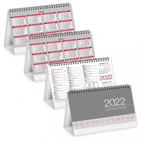 PA720 - CALENDARIO DA TAVOLO 2022 - MODERNO TABLE