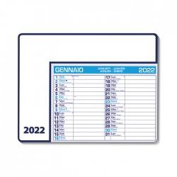 PA782 - CALENDARIO DA TAVOLO 2022 - CALENDAR PAD EDGE